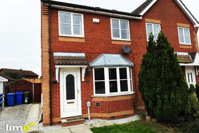 Thumbnail Semi-detached house to rent in Waterland Close, Leaf Sail Farm, Hedon