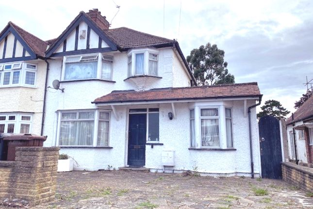 4 bed semi-detached house for sale in Walsingham Gardens, Stoneleigh Epsom KT19