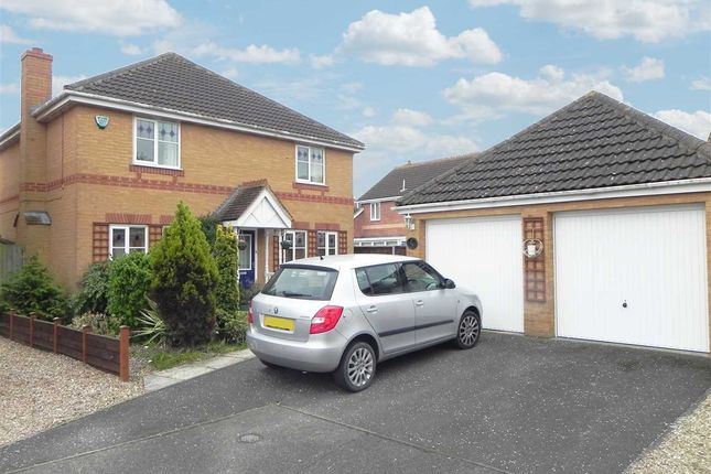 Thumbnail Detached house for sale in Gibson Close, Sleaford