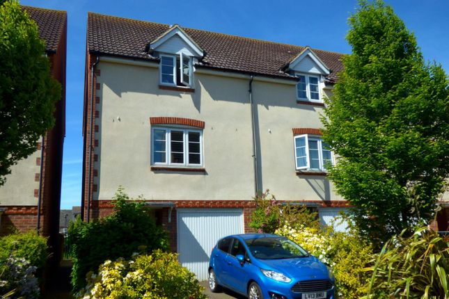 Thumbnail End terrace house to rent in Baxendale Road, Chichester