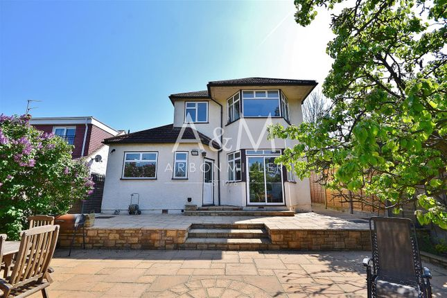 Thumbnail Detached house for sale in Dovedale Avenue, Clayhall, Ilford