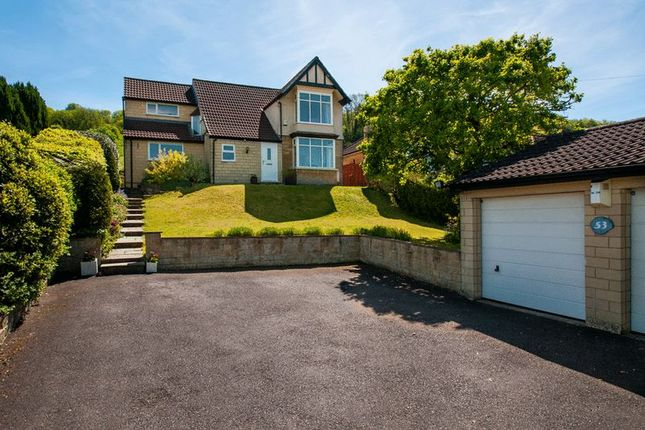 Thumbnail Detached house for sale in Warminster Road, Bathampton, Bath