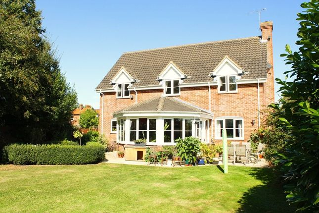 4 bed detached house for sale in The Street, Weybread, Diss