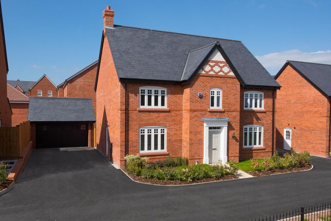 "Thumbnail Detached house for sale in ""Haughton"" at Tarporley Business Centre, Nantwich Road, Tarporley"