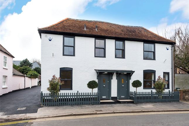Thumbnail Semi-detached house for sale in Angel Cottage, Church Road, Shepperton, Surrey