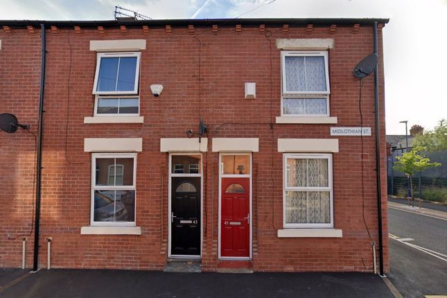 Thumbnail Terraced house to rent in Midlothian Street, Manchester