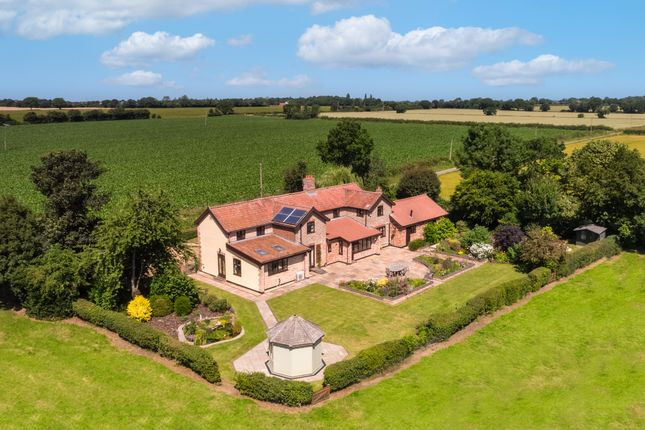 Detached house for sale in Ansons Lane, Shelton, Norwich