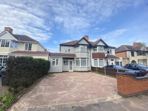 Thumbnail Semi-detached house for sale in Fox Hollies Road, Hall Green, Birmingham, West Midlands