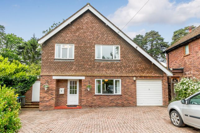 Thumbnail Detached house for sale in Lynwood Close, Woodham, Addlestone