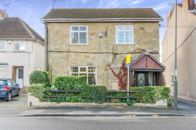 Thumbnail Detached house for sale in Chesterfield Road, Grassmoor, Chesterfield, Derbyshire