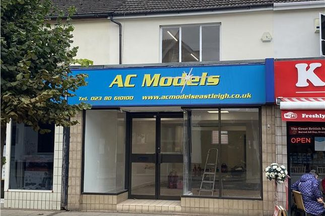 Thumbnail Retail premises to let in 7 High Street, Eastleigh, Hampshire