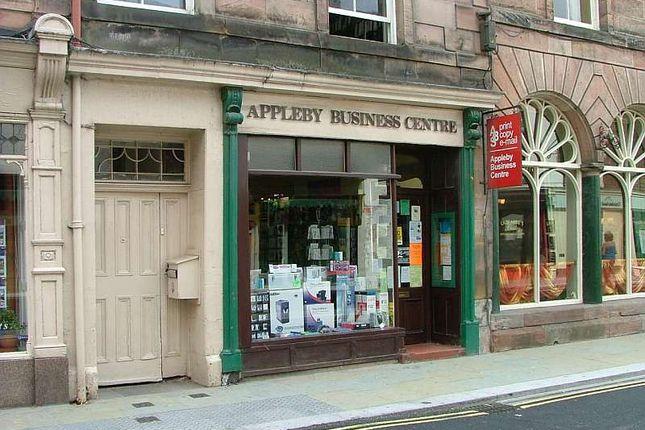 Thumbnail Retail premises for sale in Bridge Street, Appleby In Westmorland
