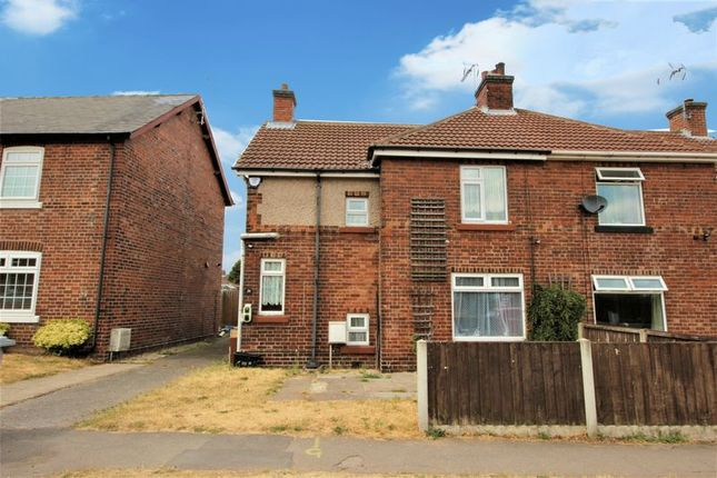 Thumbnail Semi-detached house for sale in Walesby Lane, Ollerton, Newark