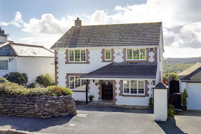 Thumbnail Detached house for sale in Barbican Road, Looe