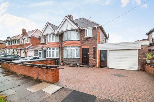 Thumbnail Semi-detached house for sale in West Avenue, Handsworth, Birmingham