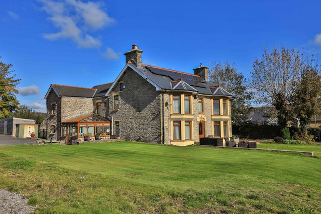 Thumbnail Detached house for sale in Gwerthonor House, Gilfach, Bargoed