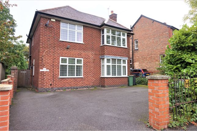 Thumbnail Detached house for sale in Hall Lane, Whitwick