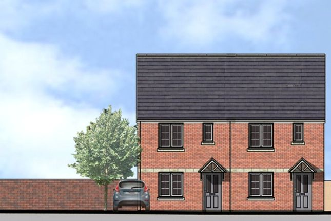 Thumbnail Semi-detached house for sale in Plots 5 & 6 Grammar Close, Blakebrook, Kidderminster, Worcestershire