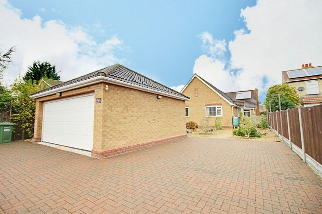 Thumbnail Detached bungalow for sale in Desborough Road, Hartford, Huntingdon