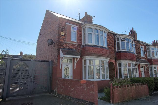2 bed end terrace house for sale in Newstead Road, Middlesbrough TS4