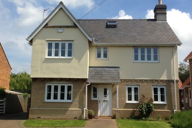 Thumbnail Detached house to rent in High Street, Cheveley, Newmarket