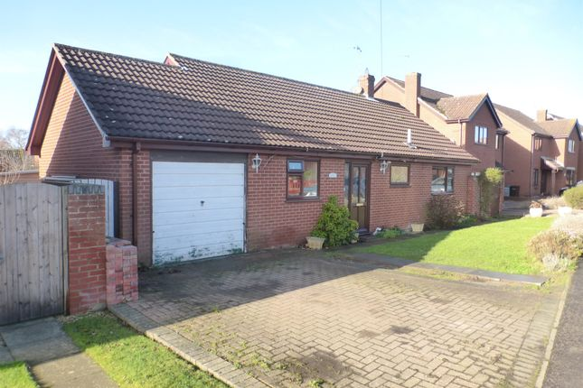 Thumbnail Detached bungalow for sale in The Chase, Blofield, Norwich