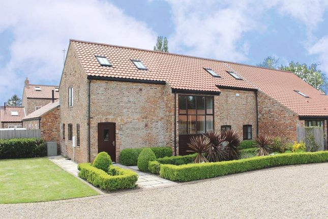 Thumbnail Barn conversion for sale in Moor Monkton, York