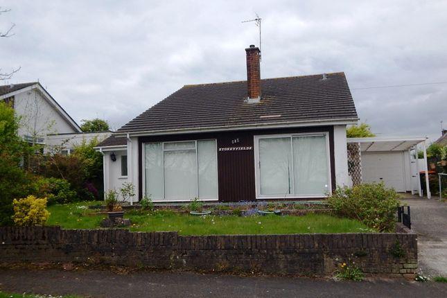 Thumbnail Bungalow to rent in Northfield Road, Caerleon, Newport