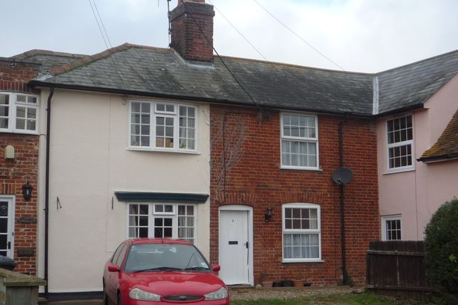 Thumbnail Terraced house to rent in Rectory Road, Newton, Sudbury