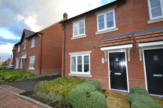 Thumbnail Semi-detached house to rent in Ash Way, Didcot, Oxfordshire