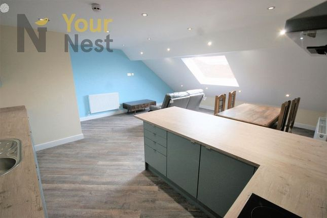 Thumbnail Flat to rent in Bills Included, Apartment 4, Woodsley Rd, Hyde Park