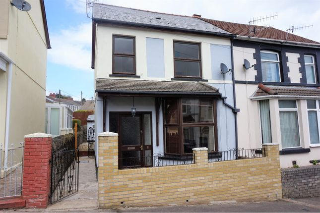 Thumbnail Semi-detached house for sale in Maes-Y-Graig Street, Bargoed