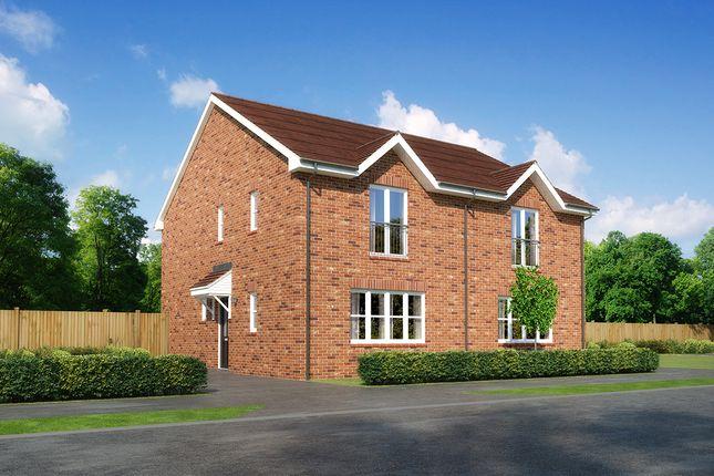 """3 bedroom semi-detached house for sale in """"Belvoir"""" at Moorfields, Willaston, Nantwich"""