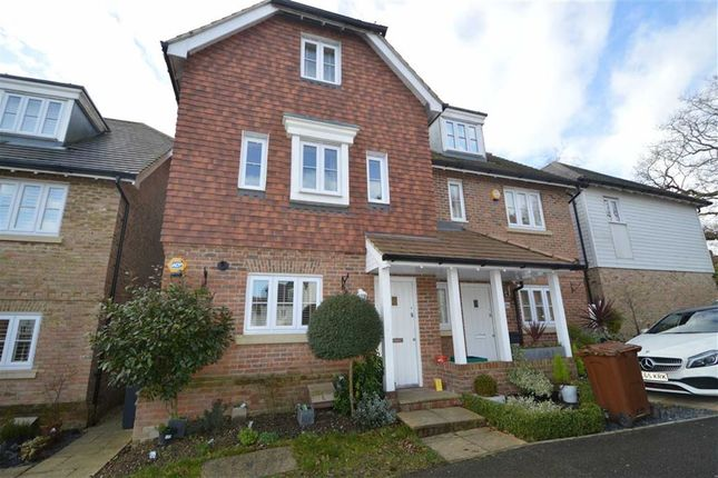 Thumbnail Semi-detached house to rent in Watson Way, Crowborough