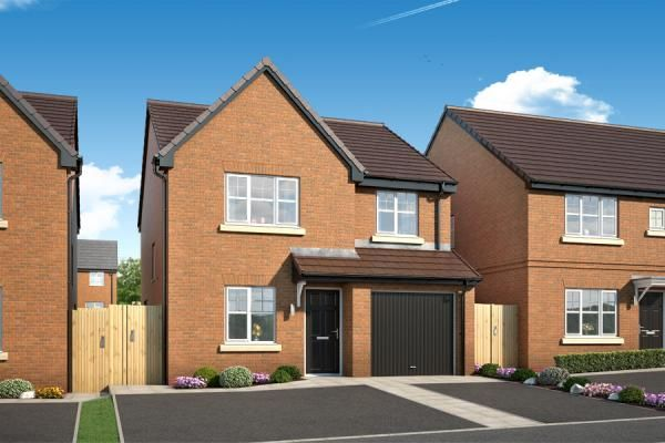 "Thumbnail Property for sale in ""The Rowingham At The Woodlands "" at Newbury Road, Skelmersdale"
