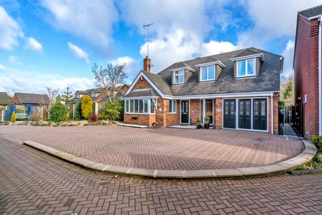 Thumbnail Detached house for sale in Meadway Close, Hednesford, Cannock