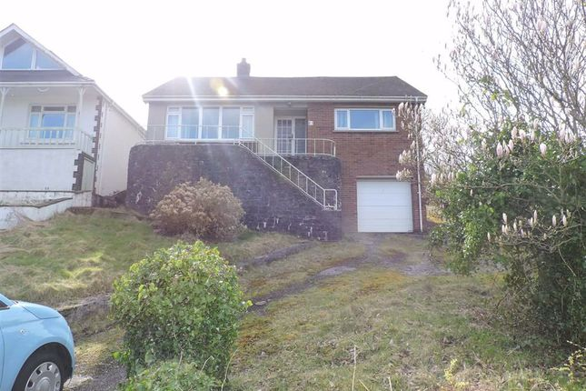 Thumbnail Detached bungalow for sale in Pontamman Road, Ammanford