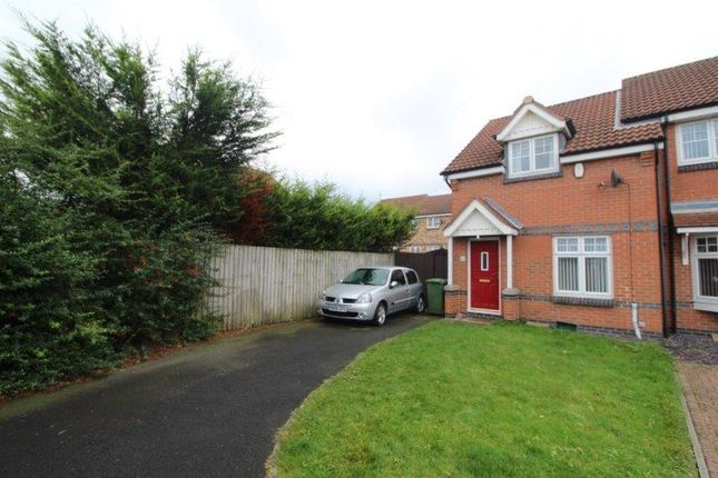 Thumbnail Semi-detached house to rent in Sandringham Drive, Blyth