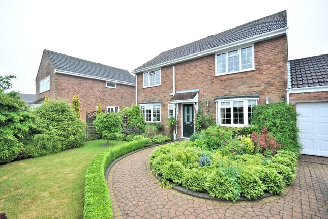 Thumbnail Detached house for sale in Coniston Close, South Wootton, King's Lynn
