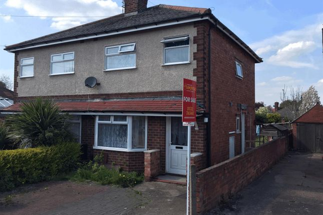 Thumbnail Semi-detached house for sale in Sutton Drive, Shelton Lock, Derby
