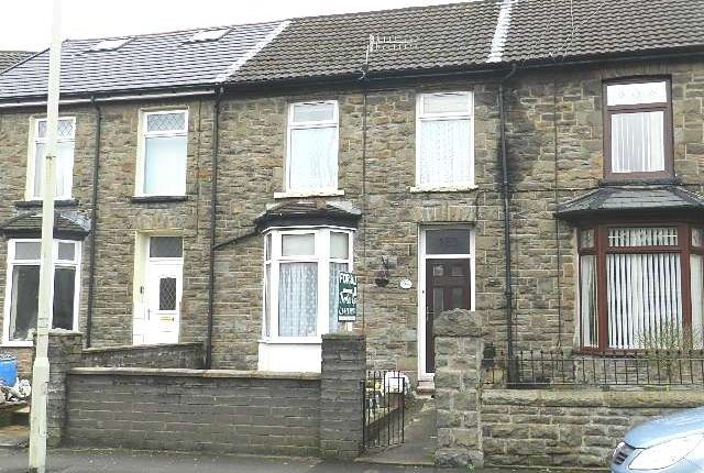 Thumbnail Terraced house to rent in Ynyswen Road, Treorcy