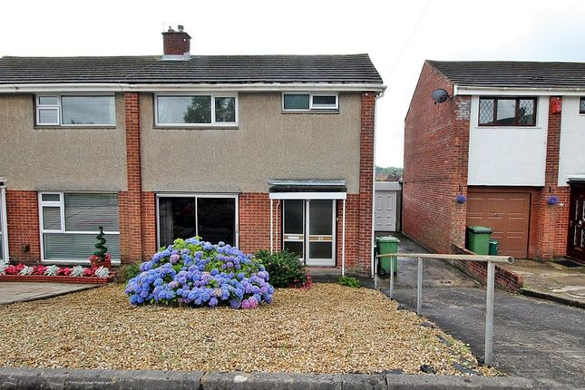 Thumbnail Semi-detached house for sale in Maes-Y-Rhedyn, Talbot Green, Pontyclun, Rhondda, Cynon, Taff.