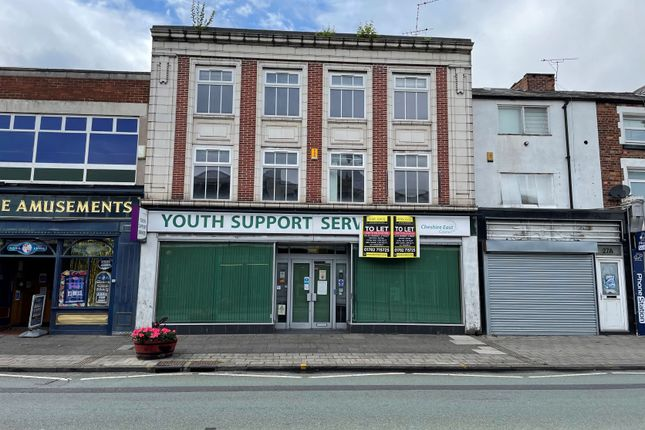Thumbnail Office for sale in Market Street, Crewe