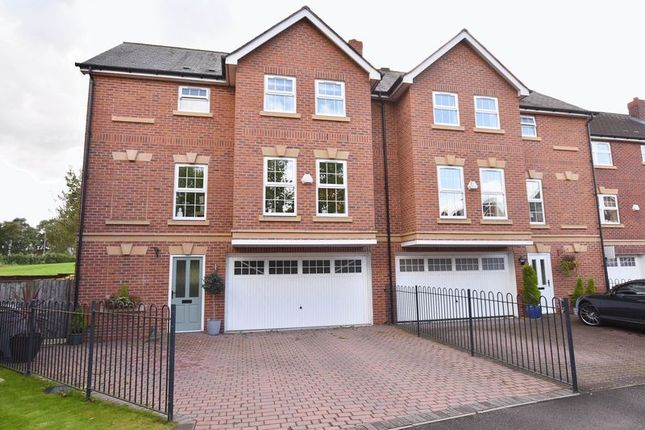Thumbnail End terrace house for sale in Galloway Green, Congleton