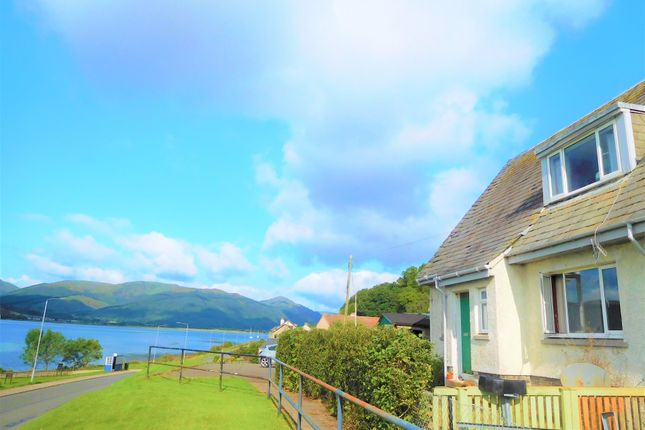 Thumbnail End terrace house for sale in 26 Grahams Point, Kilmun, Dunoon