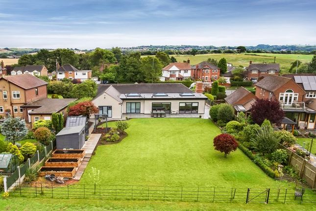 Thumbnail Detached bungalow for sale in Congleton Road North, Church Lawton, Stoke-On-Trent