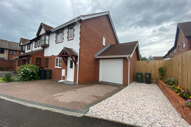 Thumbnail End terrace house for sale in Savernake Road, Weston-Super-Mare