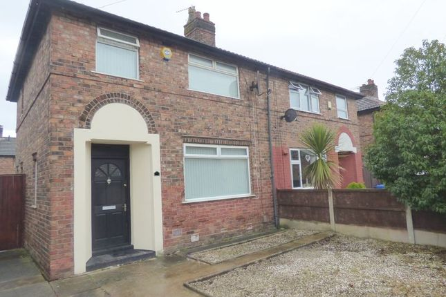 Thumbnail Property for sale in Trafford Avenue, Bewsey, Warrington