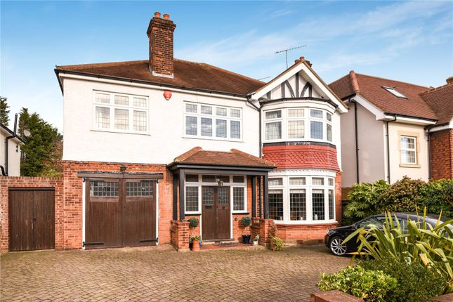 Thumbnail Detached house for sale in Green Dragon Lane, Winchmore Hill, London