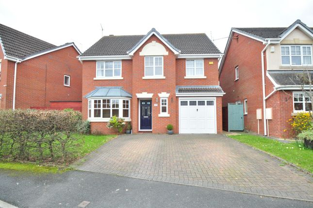 Thumbnail Detached house to rent in Brecon Avenue, Warndon, Worcester